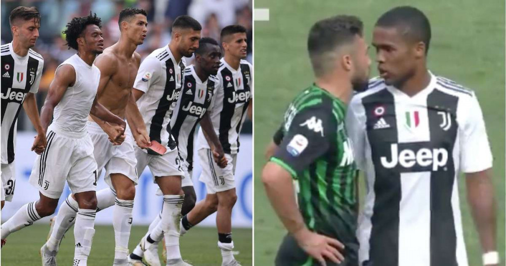 How The Juventus Squad Reacted To Douglas Costa S Disgusting Actions